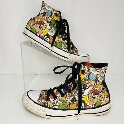 CONVERSE ALL STAR Size 6 Sneakers Women's High Top Looney