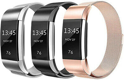 Metal Milanese Band For Fitbit Charge 3 4 Charge 2 Alta Stainless Steel Strap