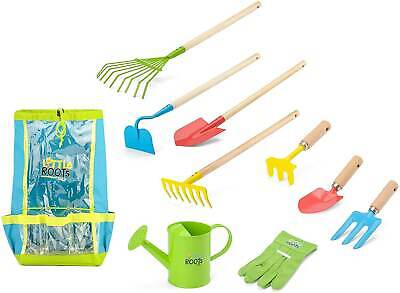 little roots gardening tool backpack