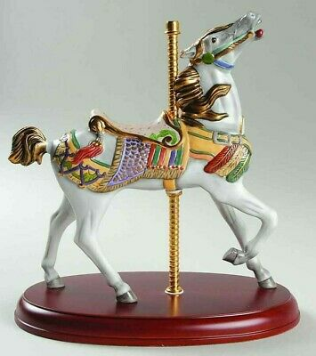 LENOX CAMEL CAROUSEL sculpture NEW in BOX with COA Horse