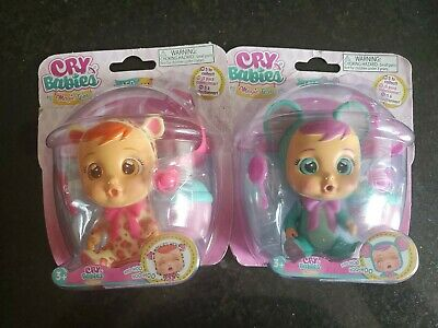 BRAND NEW Magic Tears CRY BABIES Mini Baby Doll LALA Big Eyes Sealed