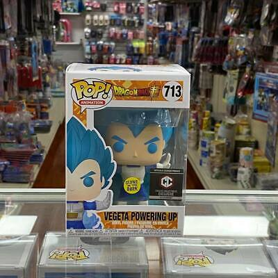 FUNKO POP Dragon Ball Super Powering Up Vegeta Exclusive GLOW IN THE DARK!