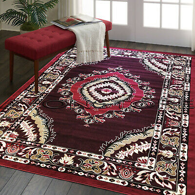 Traditional Classic Cheap Keshan Elegant New Area Rugs Runners Mat Small X Large