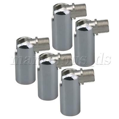 5pcs Universal Joint Connector Iron Wall Lamp Fixture 180 Degree Steering M10