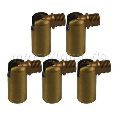 Gold 5pcs Universal Joint 180 Degree Rotation Replace for Iron Wall Lamp M10