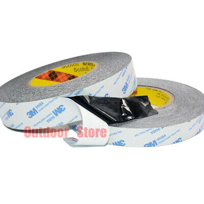 (5mm-50mm) 3M Black 9448A Heat Resistant Super Sticky Double Sided thin Tape