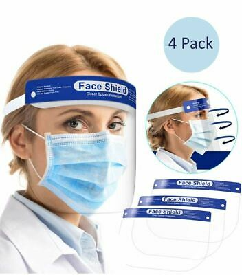 Face Mask Shield Dust Cover Unisex Mouth Cover Fashion Protective 4 PACK