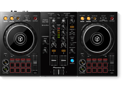 Pioneer DDJ-400 2-Channel DJ Controller for Rekordbox DJ (black)