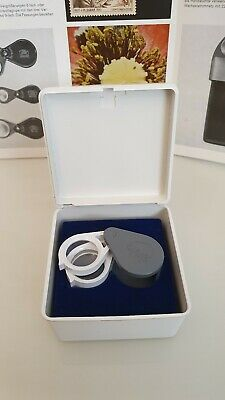 Einschlaglupe ZEISS WEST GERMANY apl. 3x 6x 9x Lupe Loupe ovp