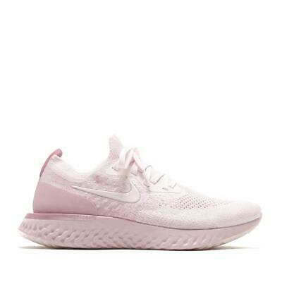 HOMMES NIKE EPIC React Flyknit Rose Perle Course Baskets