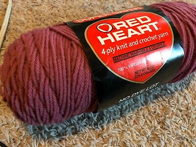 Red Heart Fiesta Country Rose 6374 yarn pink