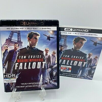 Mission: Impossible - Fallout [4K UHD] Blu-Ray with Slipcover Sleeve