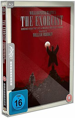 """The Exorcist Director's Cut """"Mondo"""" Limited Edition SteelBook Region Free New"""
