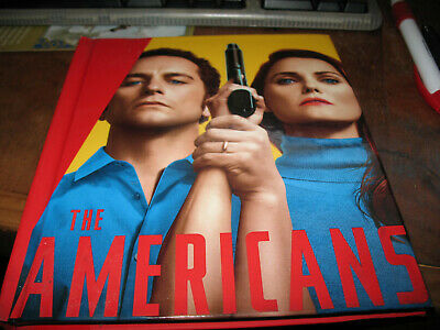 THE AMERICANS 2 dvds Season 5- episodes 1 to 5 in HC booklet