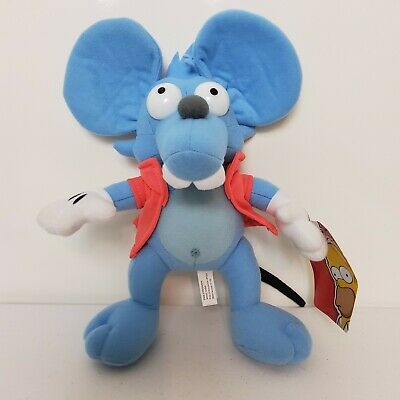 """The Simpsons Itchy and Scratchy Show Plush 11/"""" Toy Factory"""