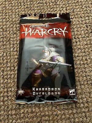 BNIB KHARADRON OVERLORDS Warband Cards Warhammer Warcry