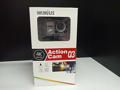Wimius Action Camera 4K vimius Q3 WiFi remote  control gopro