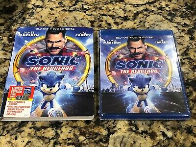 Sonic The Hedgehog Dvd 2020 New Factory Sealed Ships 5 19