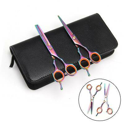 Hairdressing Barber Hair Cutting Scissors Shears Professional Salon Sets 5.5Inch