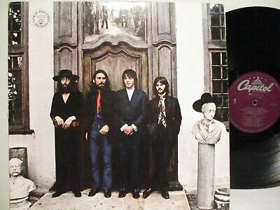 """The Beatles  """"Hey Jude"""" Capitol SW-385, Purple label 1978 RE, Gold Record Symbol"""
