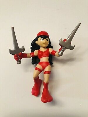 Marvel Universe Super Hero Squad ELEKTRA series 2 wave daredevil (v
