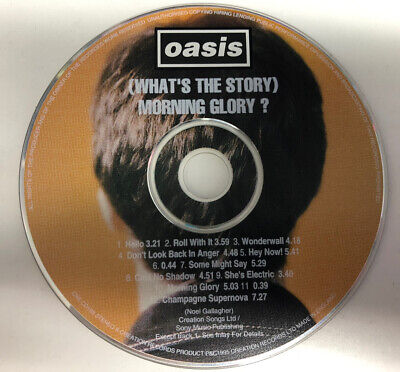 oasis whats the story morning glory cd album only