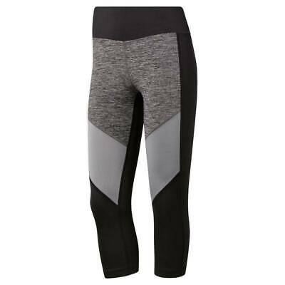 DAMEN LEGGINGS REEBOK CrossFit Stripes SpeedWick Technology