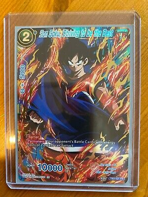 TB3-021 FR Son Goku Striving to be the Best MINT