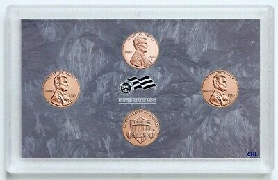 """2019 P D W Lincoln Shield Mint Proof Set ~ /""""W/"""" Proof Coin /& PD from Bank Roll"""