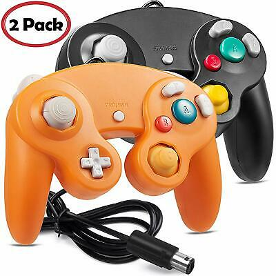 2 Pack  NGC Wired Controller Gamepad for Nintendo GameCube GC & Wii U Switch
