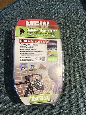 DATATAG CYCLE CYCLING BIKE BICYCLE SECURITY ANTI THEFT STEALTH PRO SYSTEM KIT