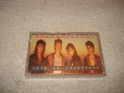 Pseudo Echo Love an Adventure Cassette Tape NEW SEALED RARE 1987