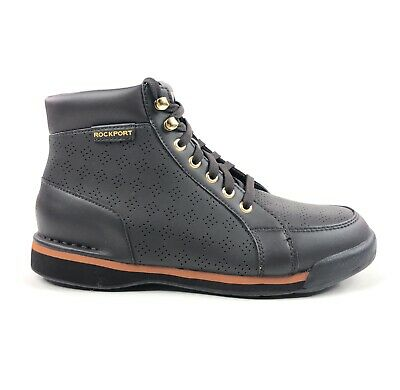 V80132 Rockport M7100 Dark Butter Chocolate Perforated
