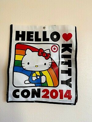 Hello Kitty Con 2014 40th Anniversary Exclusive Blue Phone Keychain Loungefly