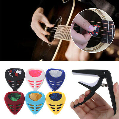 Guitar Capo Trigger Clamps For Acoustic Electric Classical Guitars & Banjo~