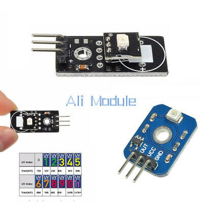DC 3-5V UVM-30A UV Ultraviolet Ray Detection Sensor Module 3-5V for Arduino