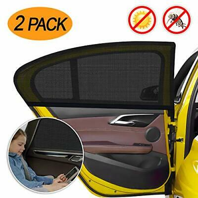 WEARXI Car Window Shades for Baby - 2 Pack Car Sun Shades for Kids Car Blinds