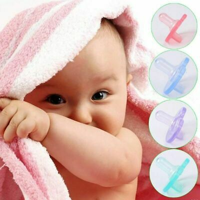 US Baby Orthodontic Dummy Pacifier Infant Silicone Teat Nipple Soother.