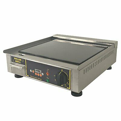 """Equipex PVG-400 15"""" Countertop Electric Griddle"""