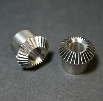 Miter & Bevel gear set small stainless precision PIC Design inc.