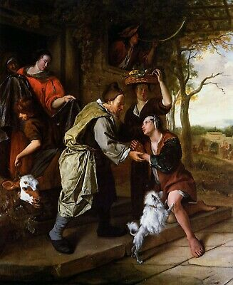 Return of the Prodigal Son Rembrandt van Rijn Sankt Sohn Vater Kind B A1 03153