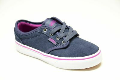Atwood Suede Blu Fuxia