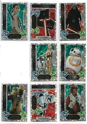 Star Wars Force Attax Force Awakens 12 Limited Edition Promo Set 15