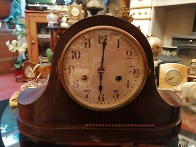 Vintage HAC 14 Day Striking Mantle Clock . Needs Attention