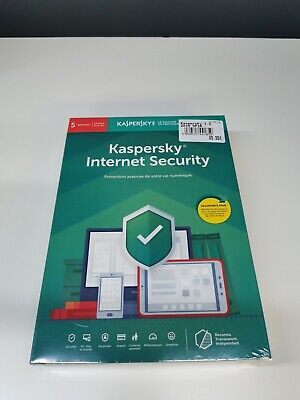 Kaspersky Internet Security 2019 5 Postes / 1 An | 2019