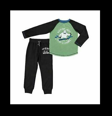 Eve Boys 3-Piece Pajama Set St Blue//Grey Sports