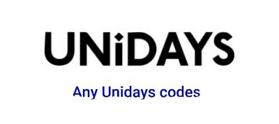 Any UNIDAYS discount codes INSTANT DELIVERY!! Look in descripton for brands