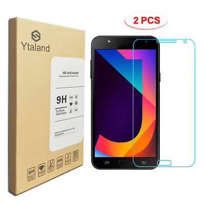 Ytaland 2Pcs Tempered Glass Screen Protector For Samsung Galaxy J3 J5 J7 2017