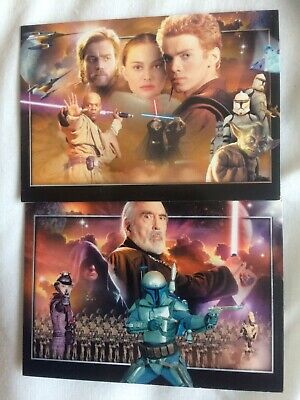 Star Wars Attack Of The Clones Trading Cards 2002 Very Good X75 + Free Postage