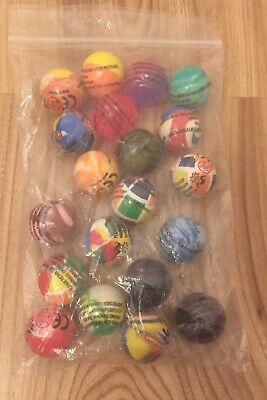 40Bouncy Jet Balls Ball Children Toy Loot Bags Fillers Kids Gift Birthday Party